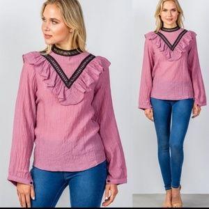 Tops - Gorgeous Victorian-esqe blouse